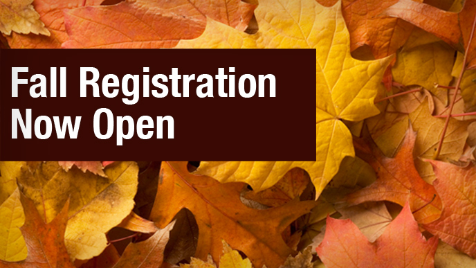Fall Registration 2017 Open - Image 1