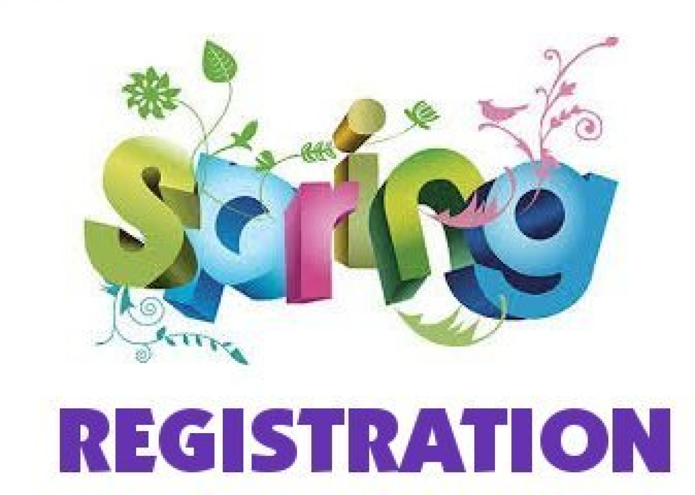 Spring Registration Now Open!