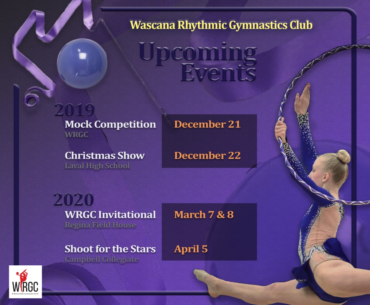 Upcoming WRGC Events for 2019-20