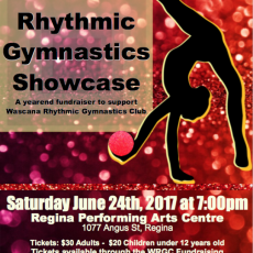 Rhythmic Gymnastics Showcase June 24, 2017 7:00 pm
