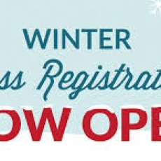 Winter Registration is now OPEN!