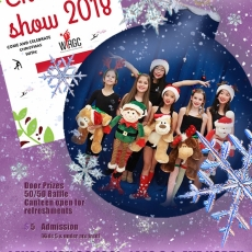 Come see our 2018 Christmas Show on Dec 16th