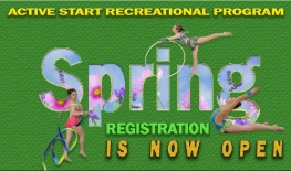 Register now for the Spring Active Start Recreational Program