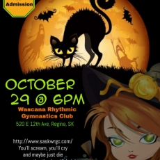 Halloween Party October 29 @ 6 pm